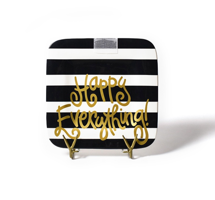 Black Stripe Mini Platter