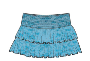 Double Ruffle Skort - Tween