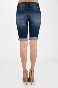 KanCan Distressed Long Shorts