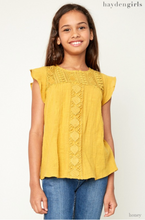 Crochet Knit Top - Tween