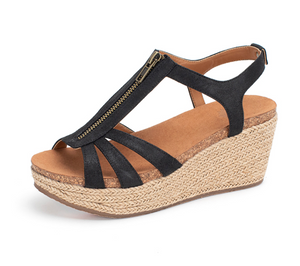 GAIL WEDGE SANDALS