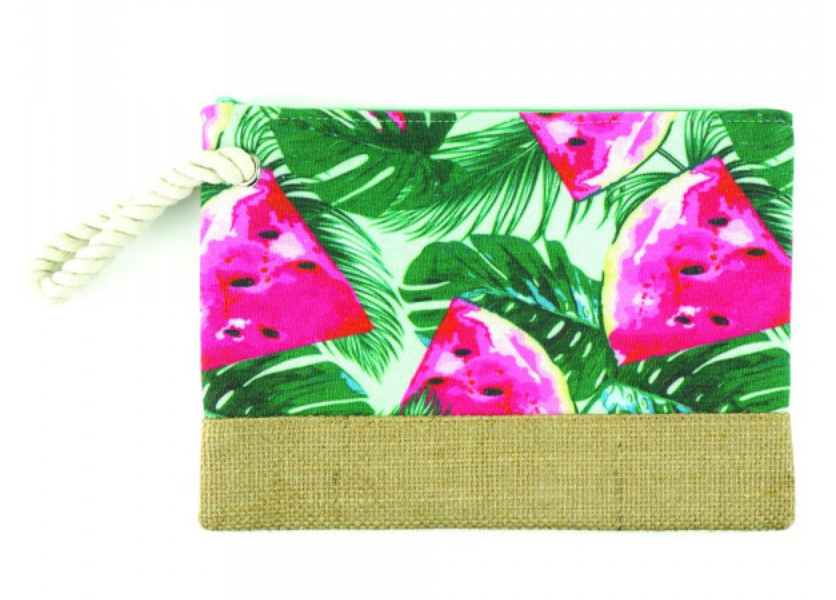 Beach Pouch W/ Rope Handle