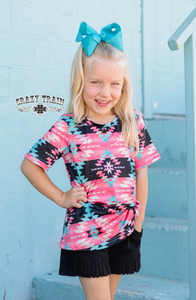 TWEEN NEVADA KNOT TOP - CRAZY TRAIN CLOTHING