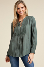 Easy Going Babydoll Top