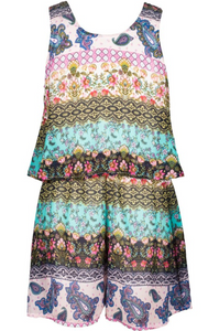 Sleeveless Romper - Tween