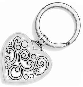 Contempo Heart Key Fob - Brighton