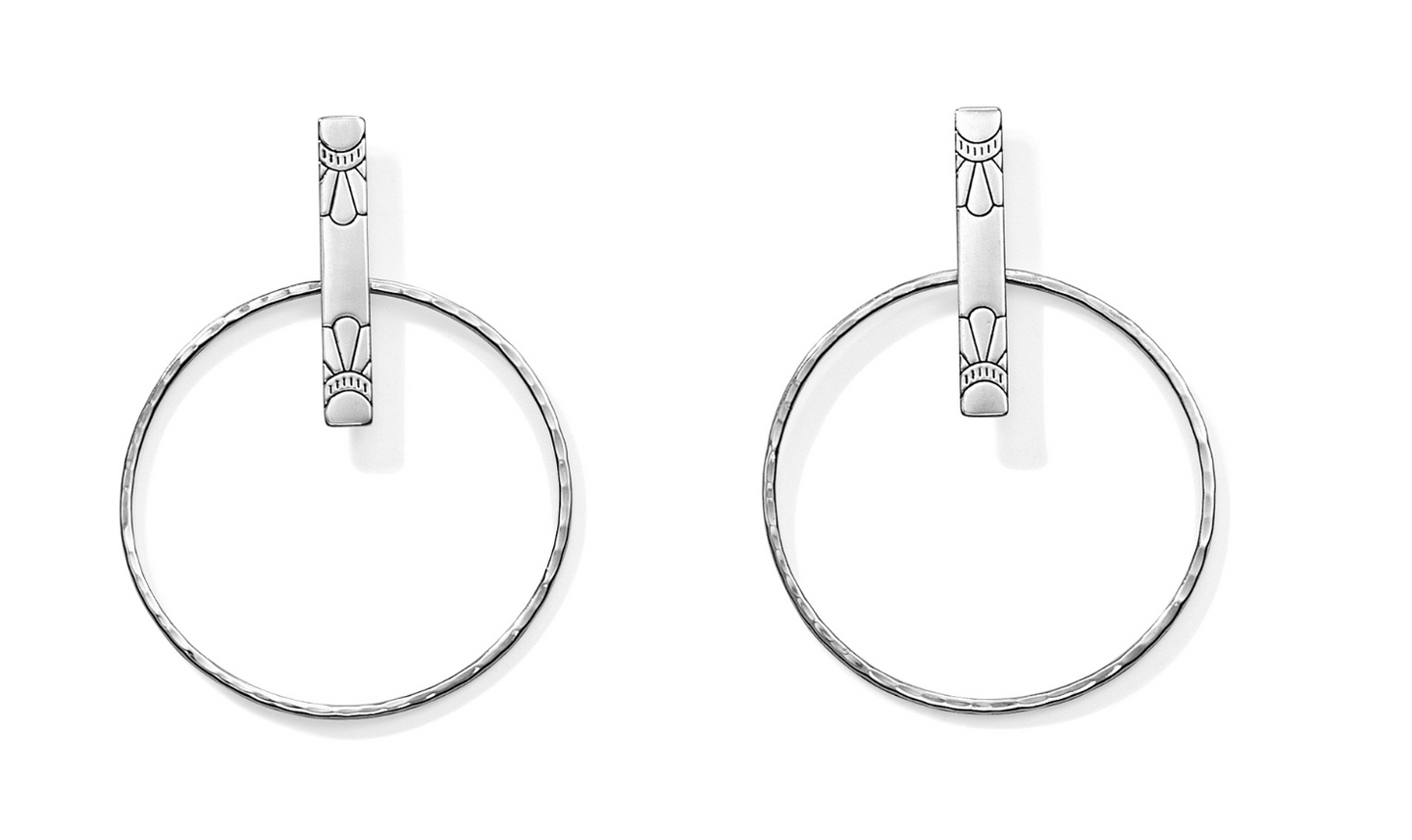 Marrakesh Soleil Post Hoop Earrings - Brighton