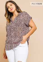 Falling For Leopard Top