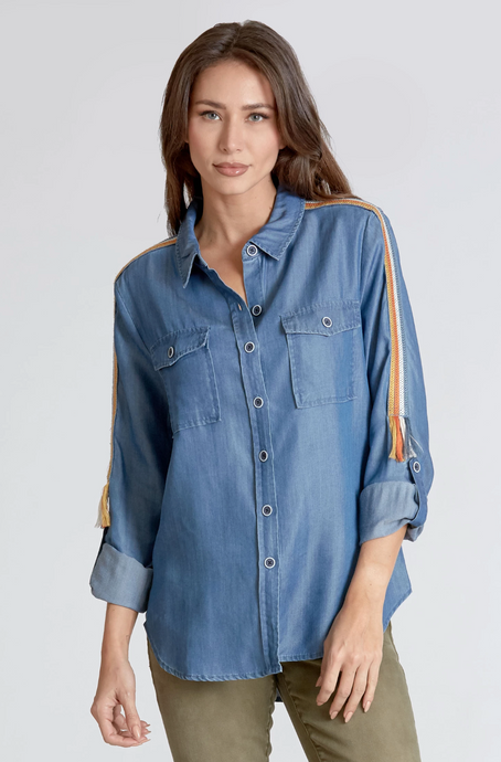 ALYSSA PACIFIC TOP - DEAR JOHN DENIM