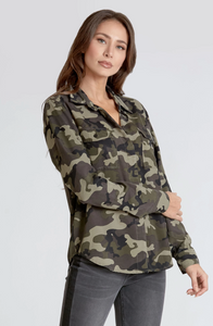 MANDY CAMO TOP - DEAR JOHN DENIM