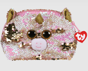 Fantasia Reversible Sequin Accessory Bag- TY