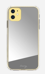 Silver Mirror iPhone Case