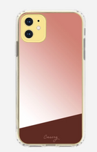 Rose Gold Mirror iPhone Case