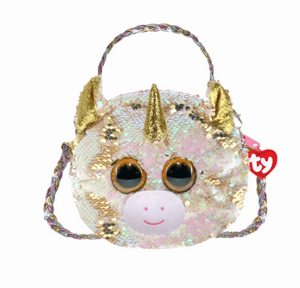 Fantasia Reversible Sequin Unicorn Purse - TY