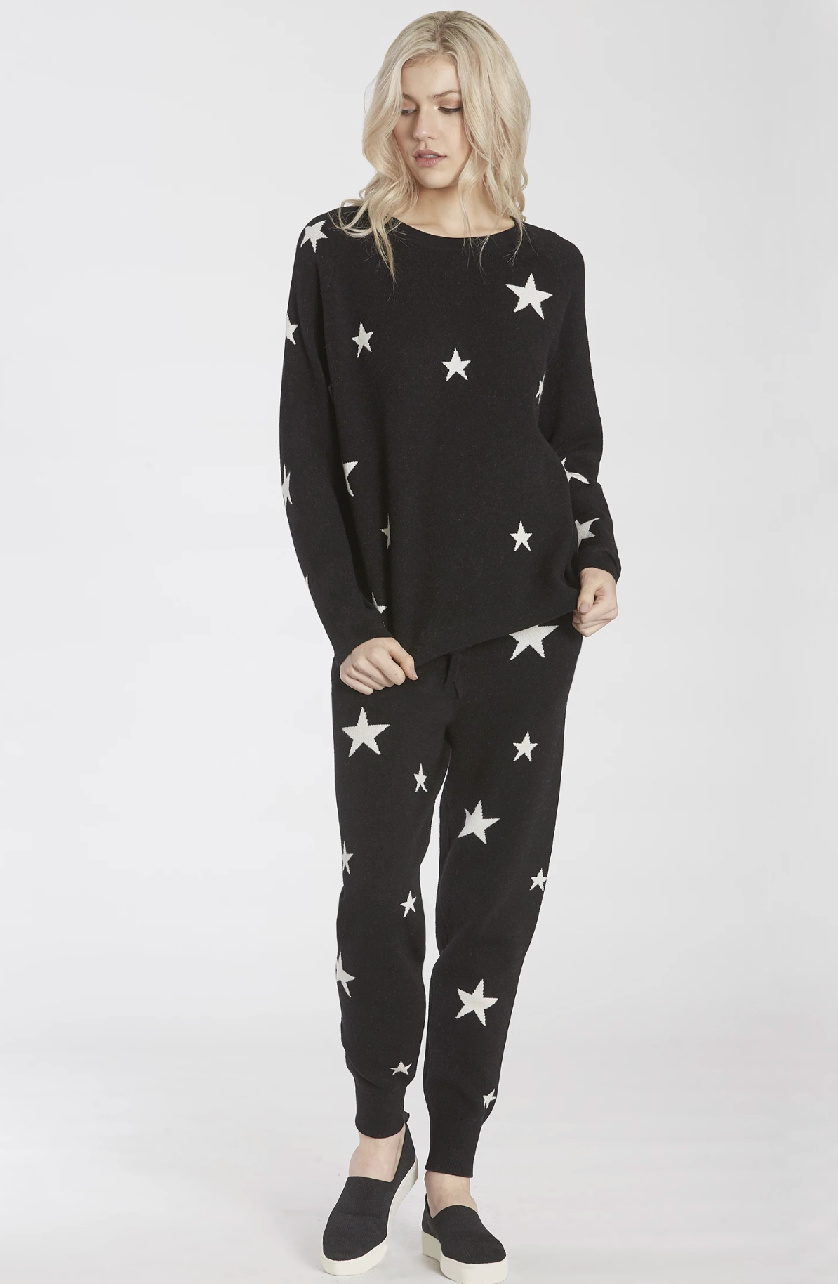 CORY SWEATER KNIT STAR JOGGER