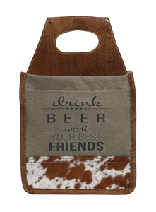 BEST FRIENDS 6-PACK BEER CADDY