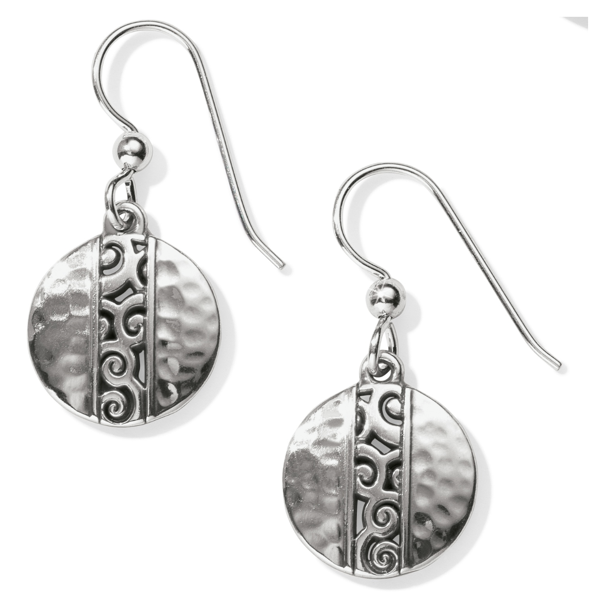 Mingle Disc French Wire Earrings - Brighton
