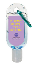 Hand Sanitizers with an Attitude