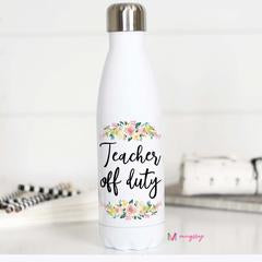 Teacher Off Duty Water Bottle