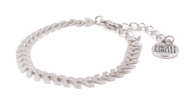 SILVER LANCE BRACELET - THE GODDESS COLLECTION