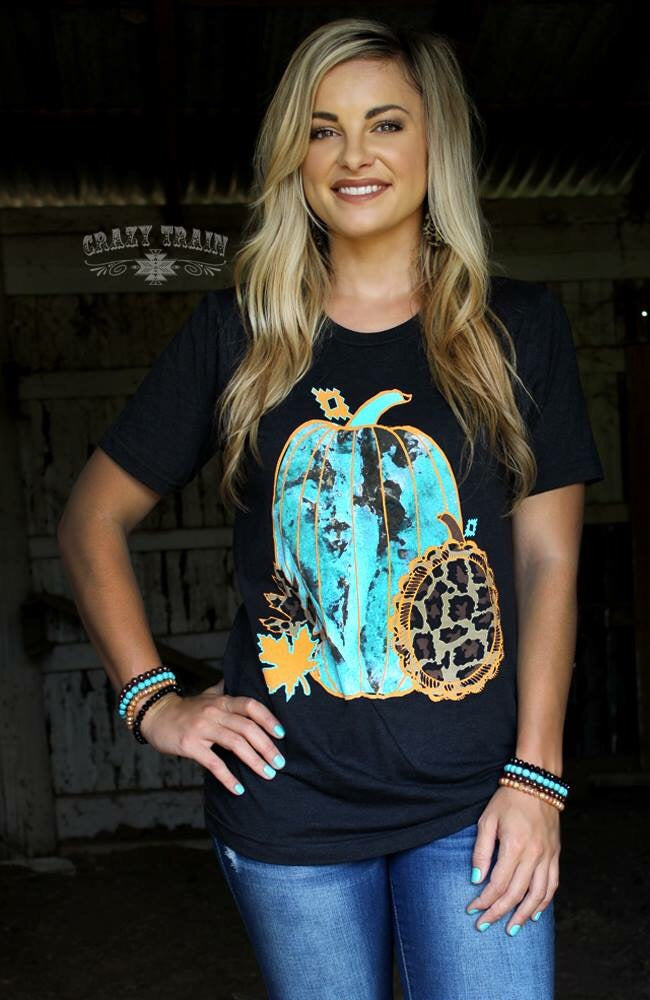 HUCKLEBERRY HARVEST TEE - Crazy Train Clothing