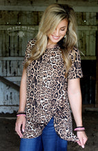 LEOPARD hot or KNOT TEE  - Crazy Train Clothing