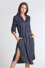 CASSANDRA LONGLINE SHIRT DRESS AFTER MIDNIGHT - Dear John