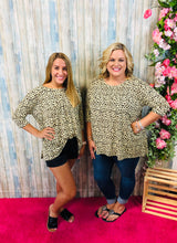 Taupe Leopard Tunic