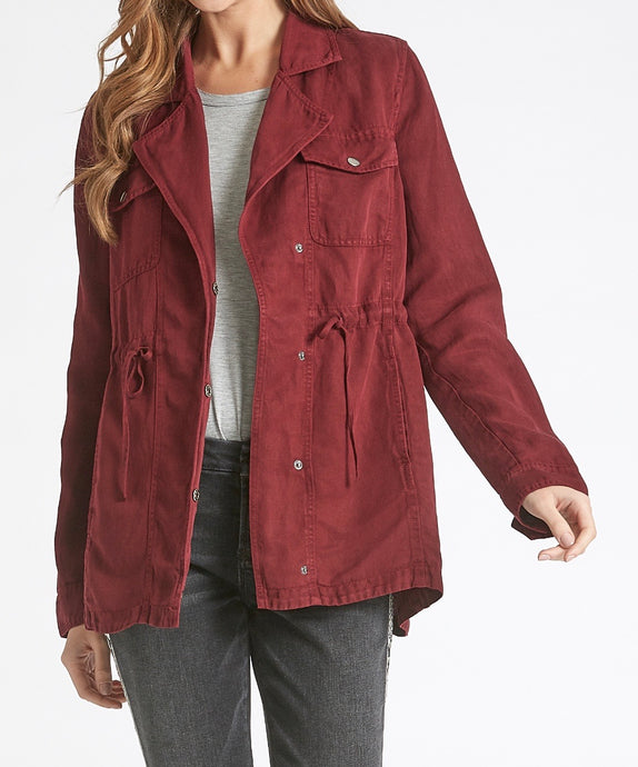 Brady Burgundy Jacket - Dear John