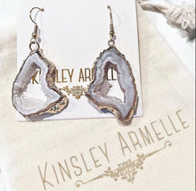 CHIFFON DROP EARRINGS - THE AGATE COLLECTION