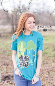 CLEVER CLOVER ST PATTY'S DAY - Crazy Train Clothing