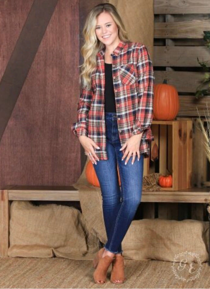 The Plaid Holiday Flannel - New Release!