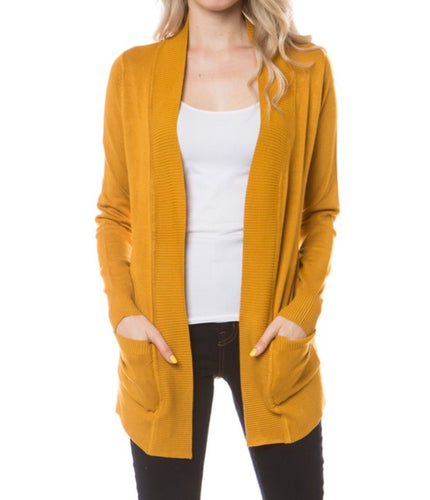 The Perfect Fall Cardigan! - Available in Multiple Colors/Preorder