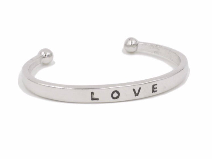 SILVER BRACELET - LOVE COLLECTION