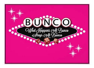 BUNCO - 3/26 @ 6:30 PM