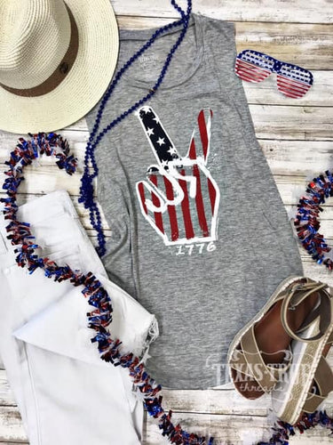 Peace, Love, & 1776 Tee it Tank
