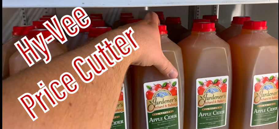 Gardener's Apple Cider Available at Price Cutter and Hy-Vee