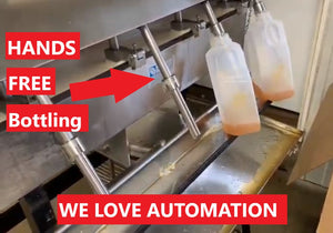 "Check out our ""automated""  bottling system"