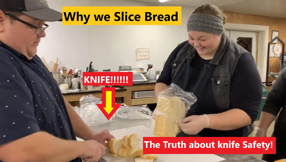 Why is Gardener's Bread Sliced?