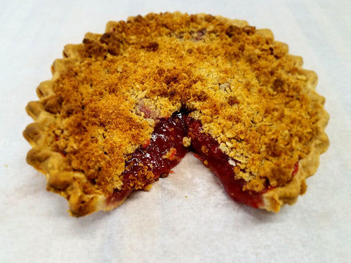 Gardener's Strawberry Rhubarb Pie