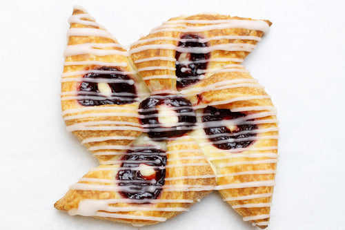 Blueberry & Cream Danish