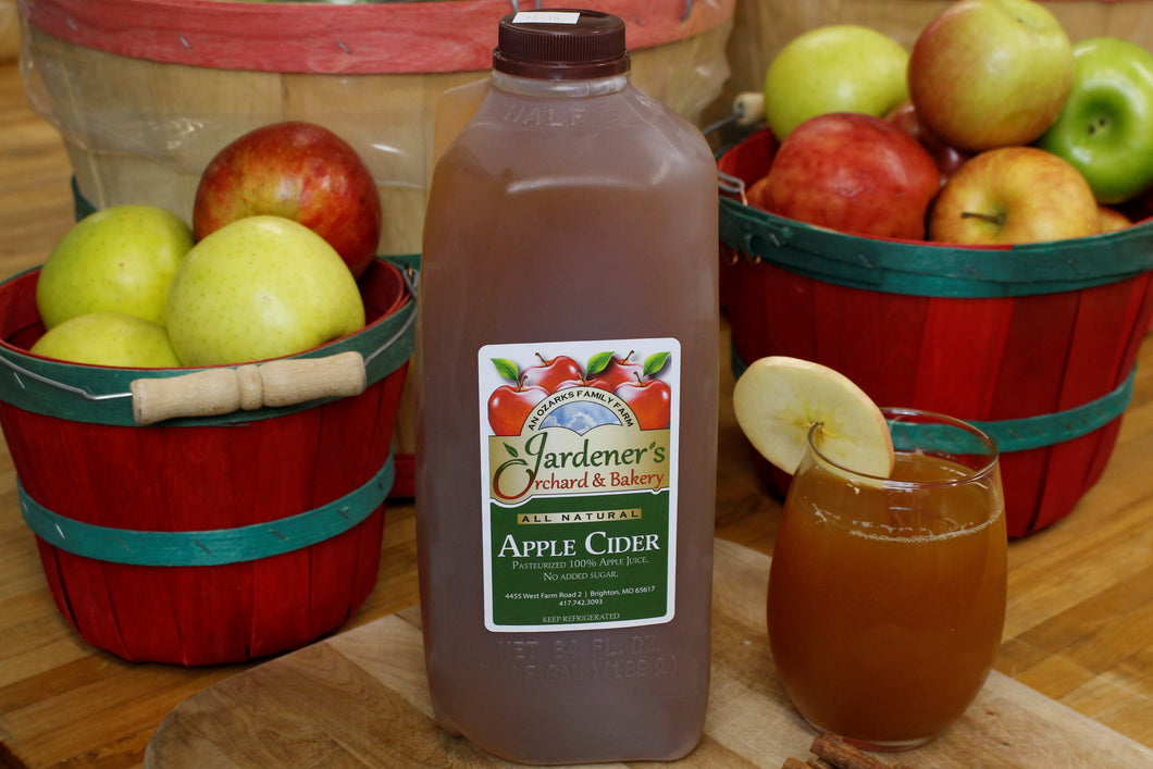 1/2 Gallon Apple Cider
