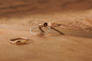 BABY A BANNER RING