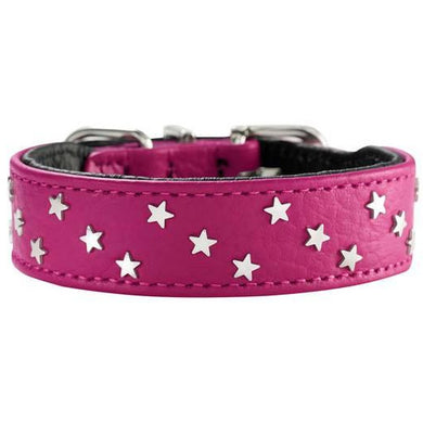 Hunter Dog Collar - Capri Mini Stars