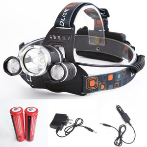 6000 Lumen LED Headlamp