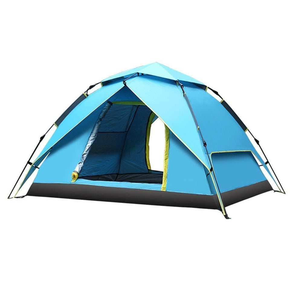 3 SECOND OPEN Automatic Hydraulic Pop-up Tent