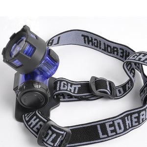 LED Headlamp - Hiking, Trekking, Camping