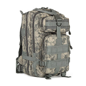 Lancastor Survival Pro: Molle Tactical Backpack 30 L