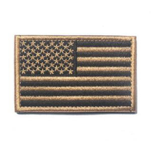 American Flag Stick On Patch