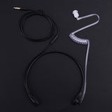 Tactical Throat Microphone and Earpiece for Mobile Phones - Headset
